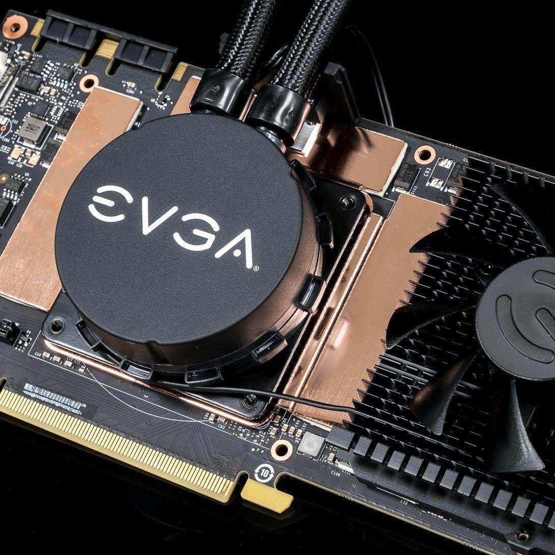 The Evga Geforce Gtx 1080 Ti Sc2 Hybrid Is Here Built In Hybrid