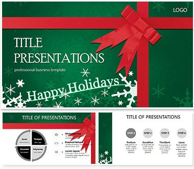 Happy Christmas PowerPoint Templates PowerPoint Templates - christmas powerpoint template