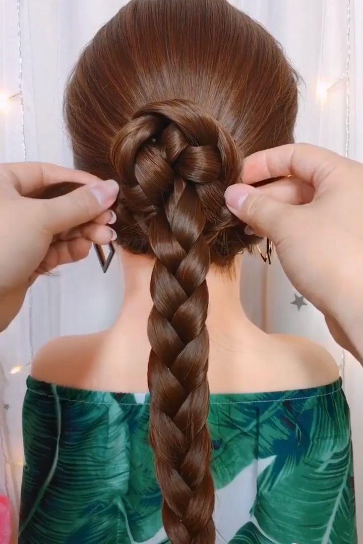 Beautiful Hairstyle Beautiful Hairstyle Belle Coiffure Jolie Coiffure Coiffures Simples