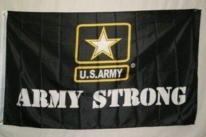 3x5 US U S ARMY OFFICIALLY LICENSED MILITARY Super-Poly FLAG Banner*USA MADE