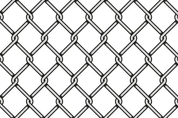 Steel Wire Mesh Seamless Background Seamless Background Prison Art Chain Fence
