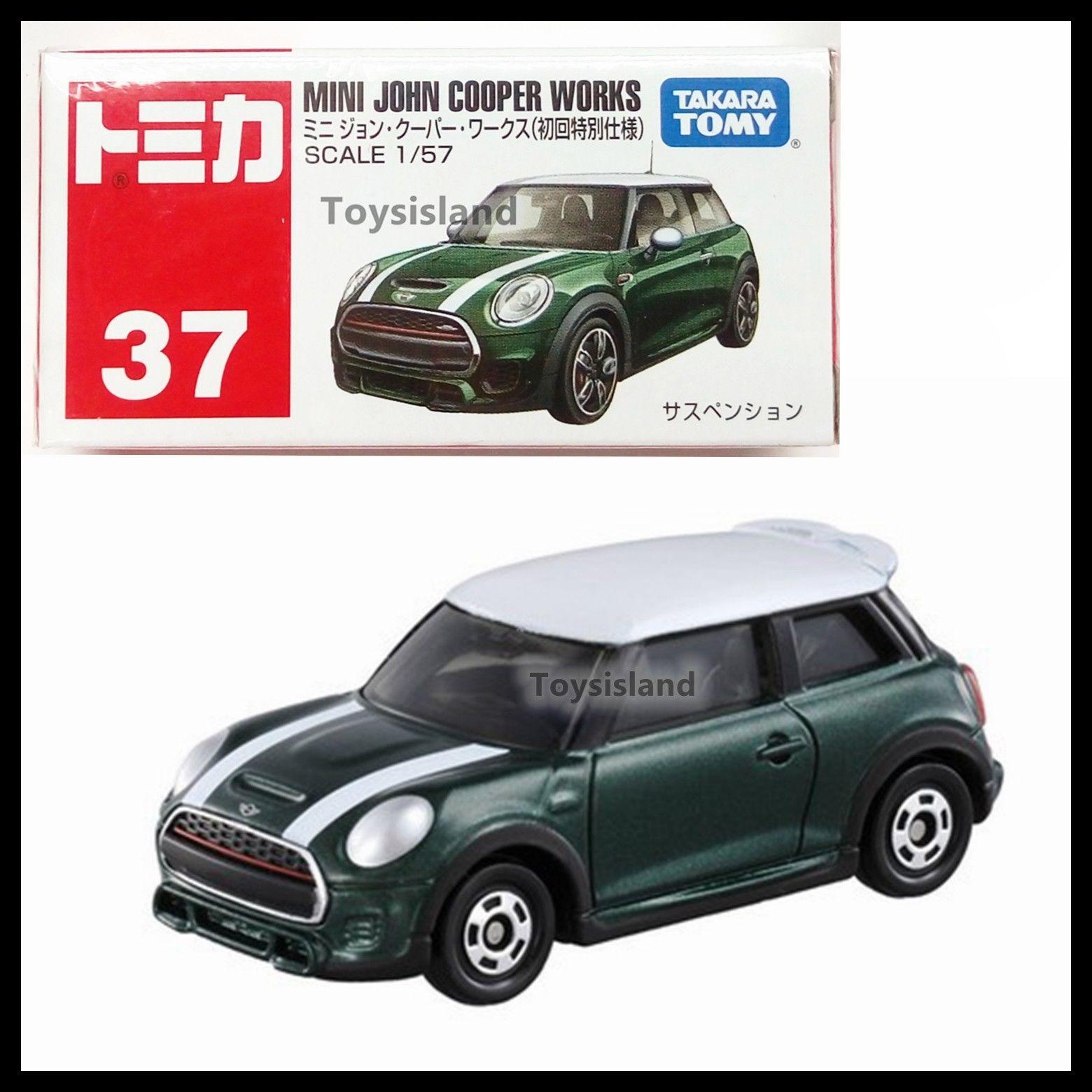 Tomica 37 Mini John Cooper Works 1/57 Tomy