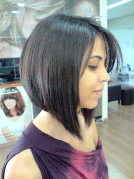 cortes de cabelo chanel degrade preto