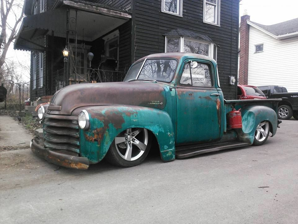 Ratrod Advanced Design pickup on an S10 frame and rocking some new ...
