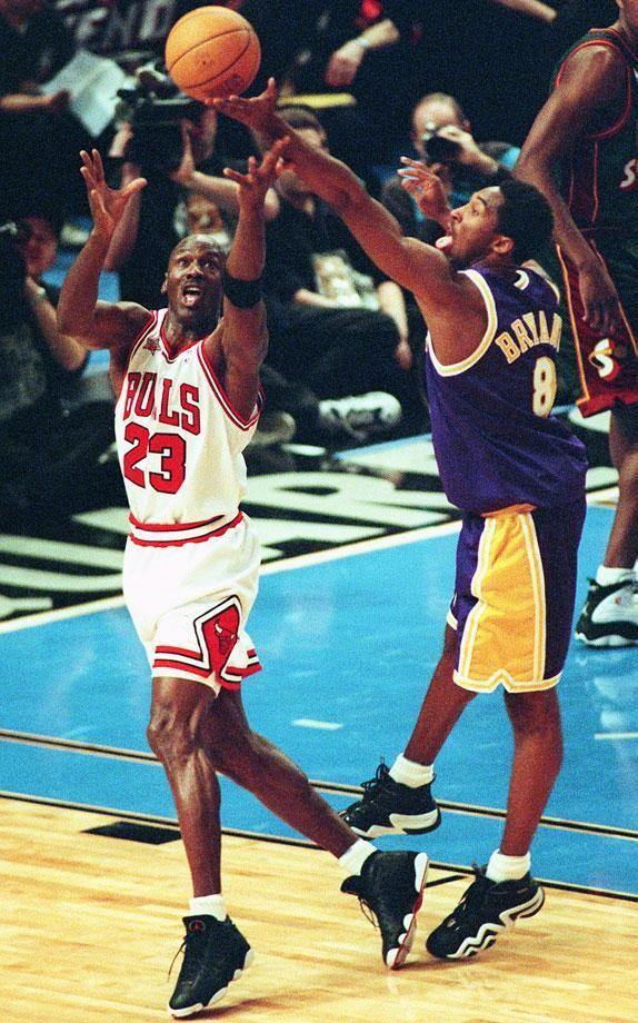 1998 Nba All Star Game Revisited Michael Jordan Photos Kobe Bryant Michael Jordan Kobe Bryant Pictures