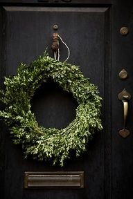 Merry Christmas   www.myLusciousLife.com - wreath   nicole franzen