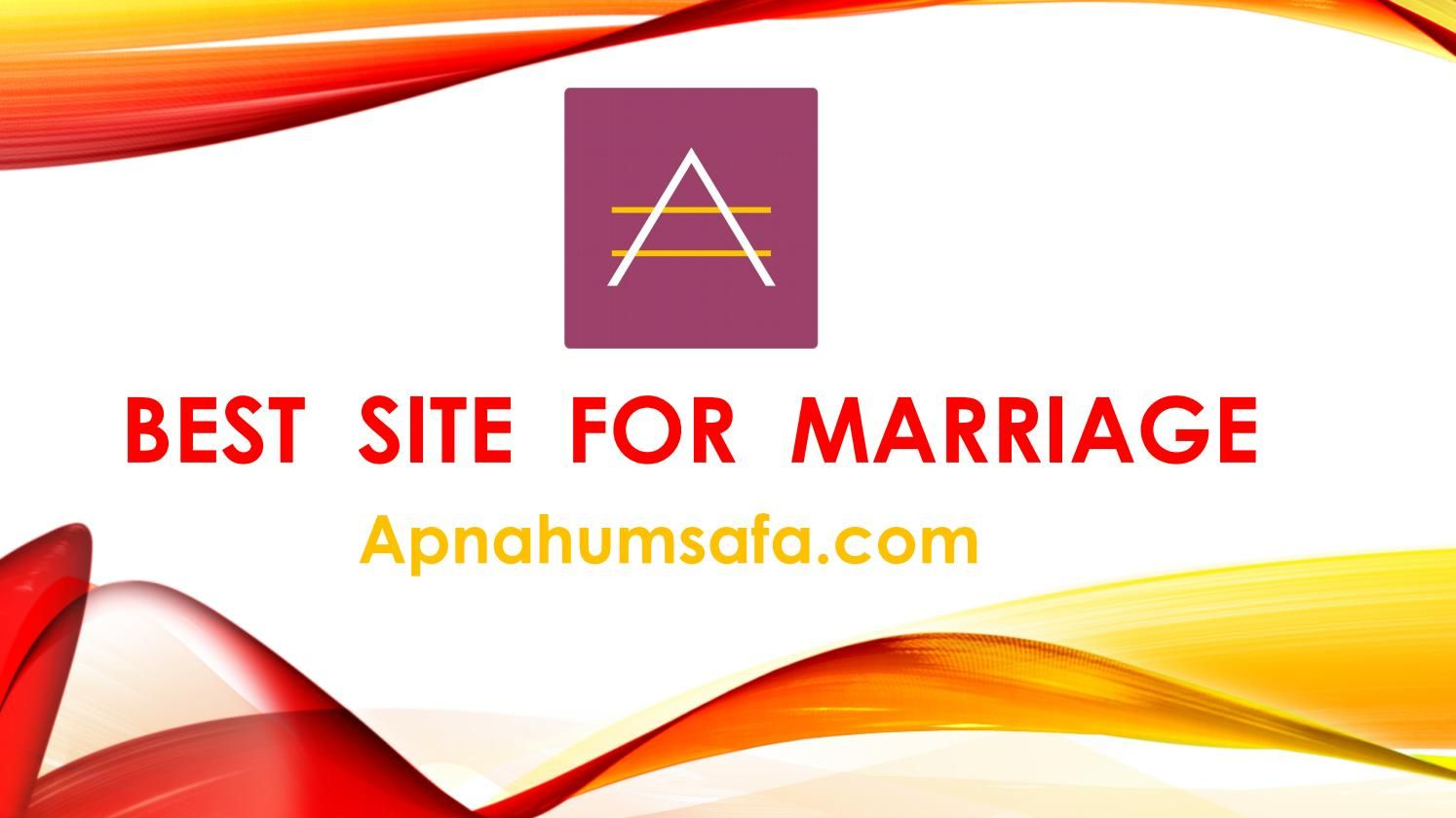 best site for marriage