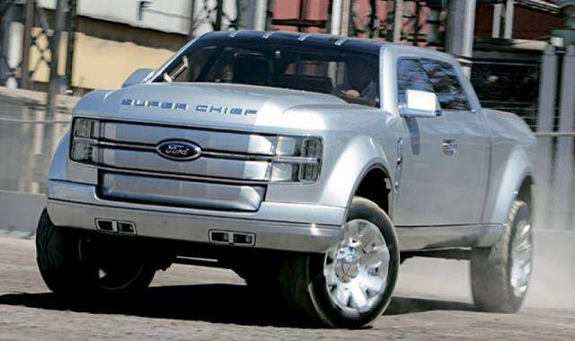 Super Chief Ford Truck Price >> 2019 Ford Super Chief Concept Front View Concept Cars Group Pins