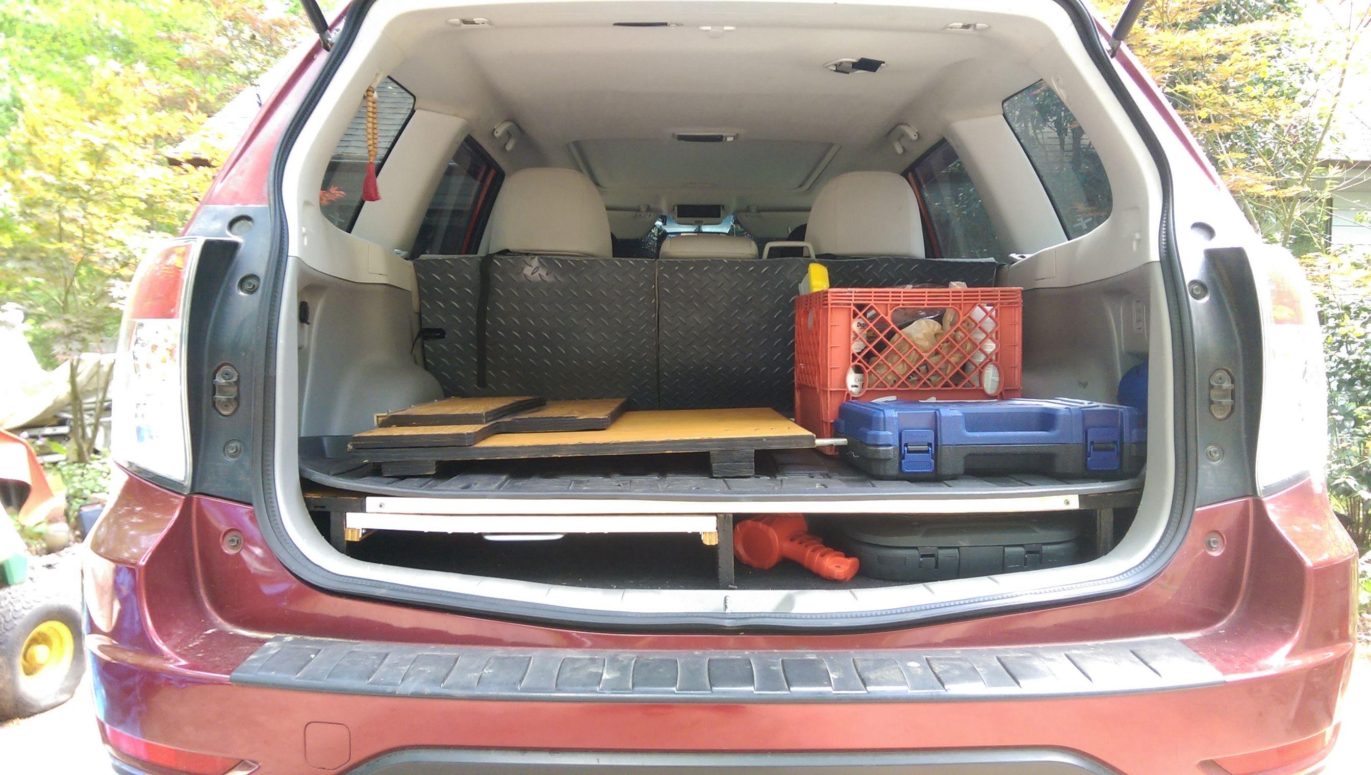 09 13 Rear Sleeping Platform Subaru Forester Owners Forum