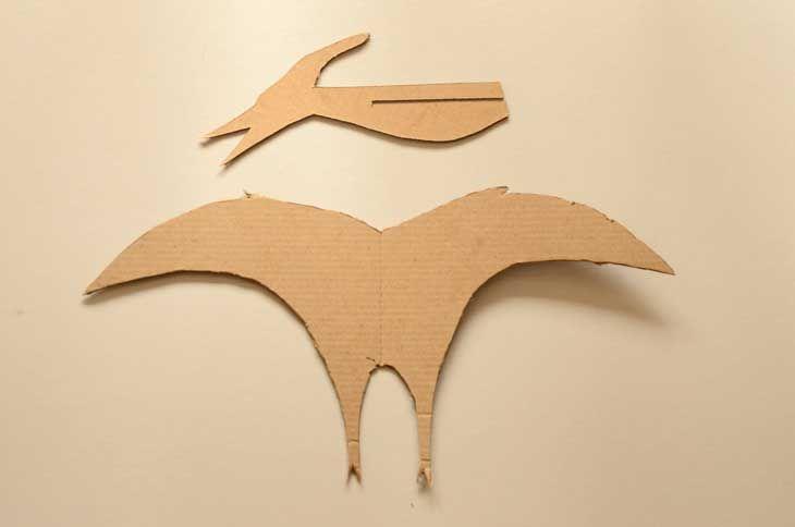 pterodactyl template kids crafts pinterest