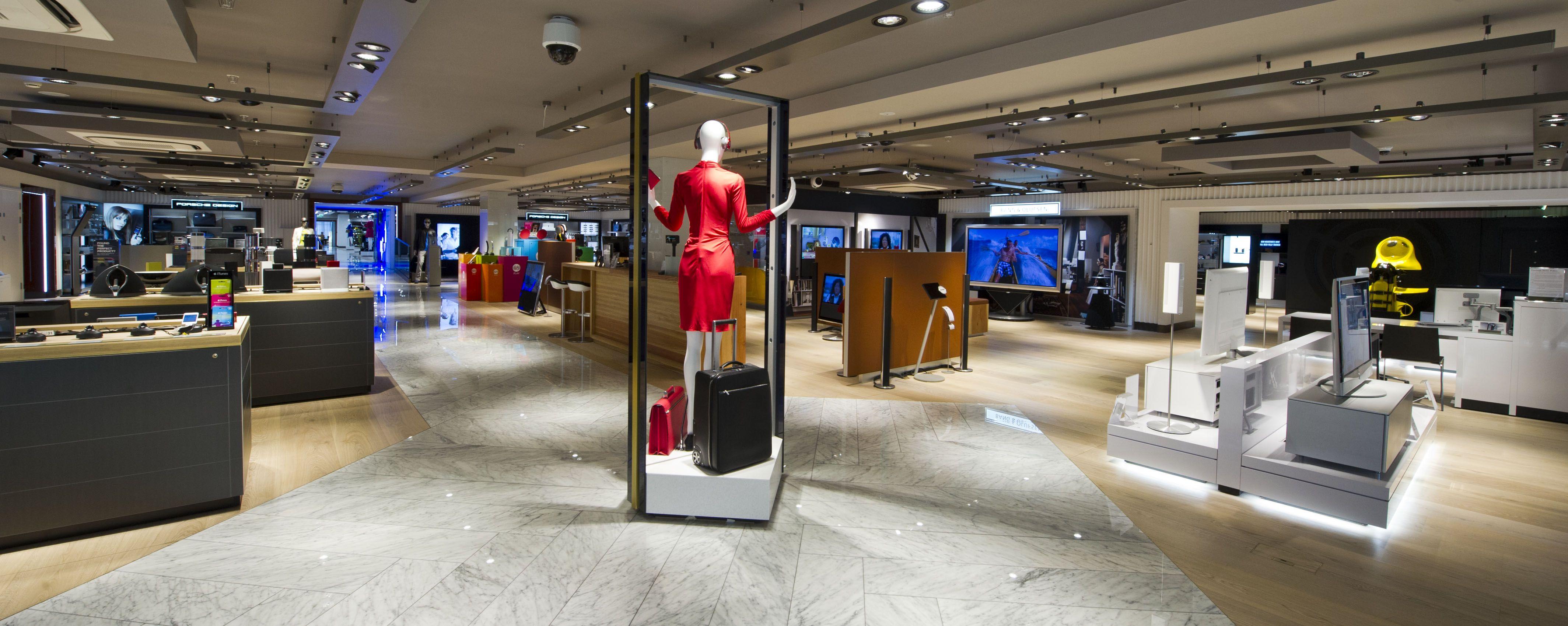 Retail Design | Shop Design | Electrical Store Interior | Harrods ...