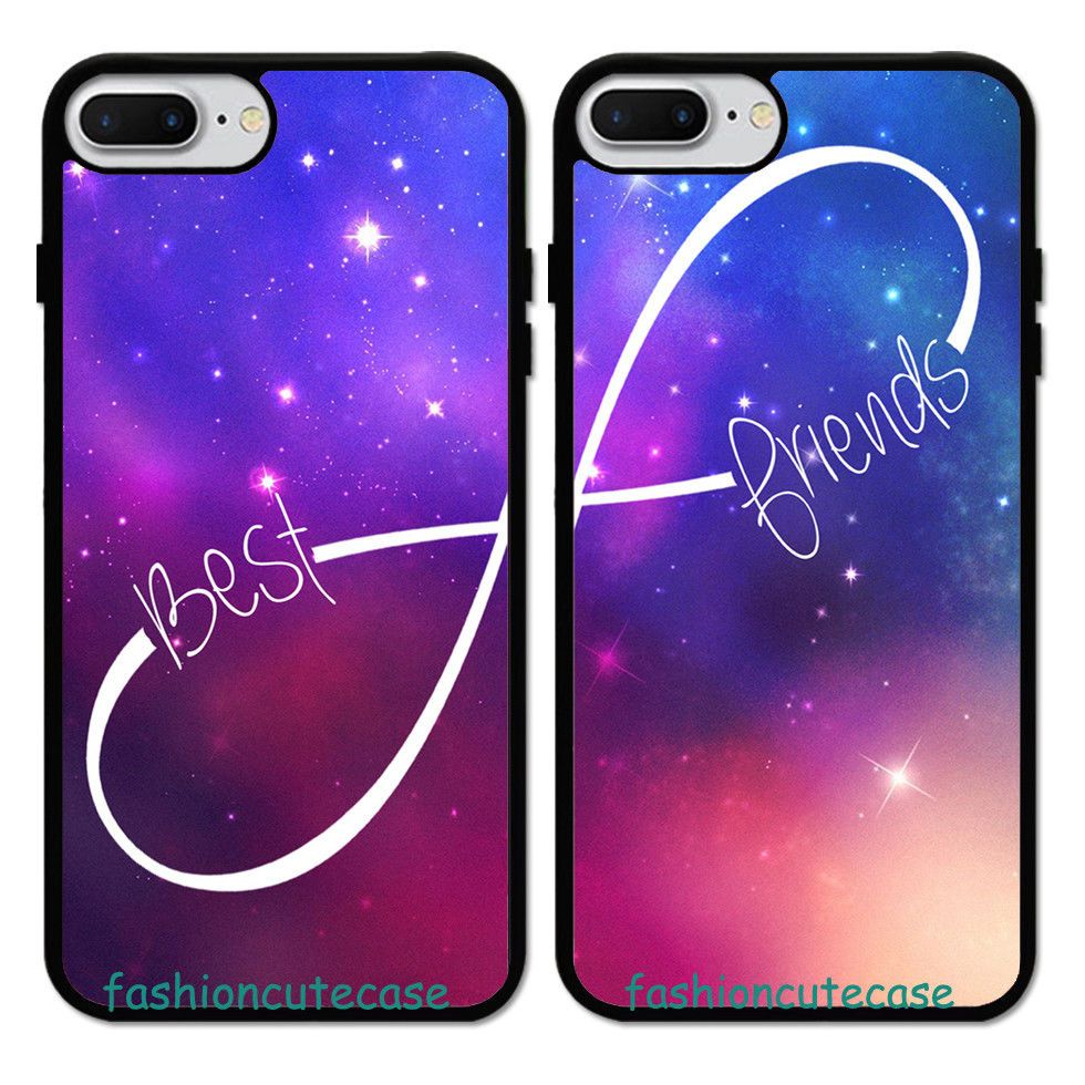 Bff Best Friend Couple Rubber Phone Case Cover For Iphone 5 6s 7 Plus 8 Unbrandedgeneric Bff Phone Cases Bff Phone Cases Iphone Friends Phone Case