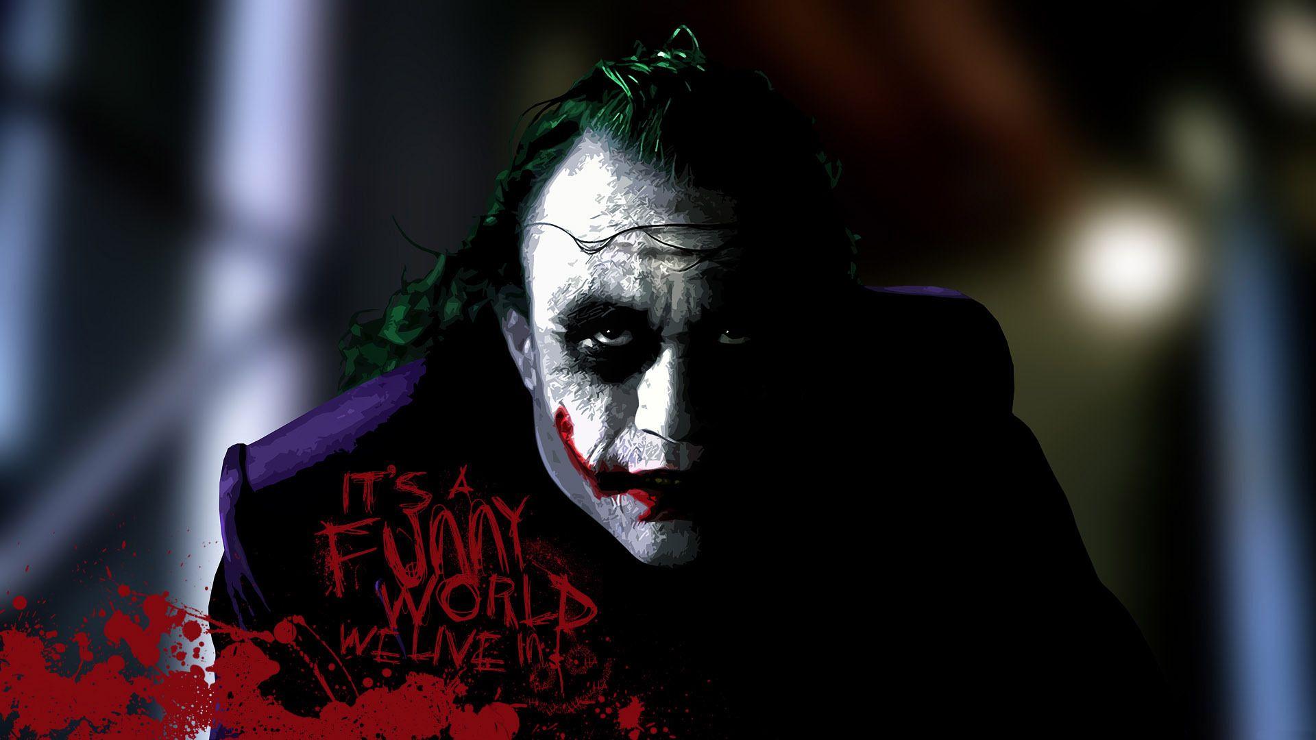 The Joker Wallpapers × The Joker Dark Knight Wallpapers