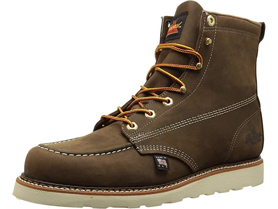 4a5d327671c Thorogood 6 Moc Toe Men's Work Boots Brown Crazyhorse in 2019 ...