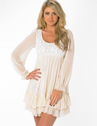 flowy with sleeves!