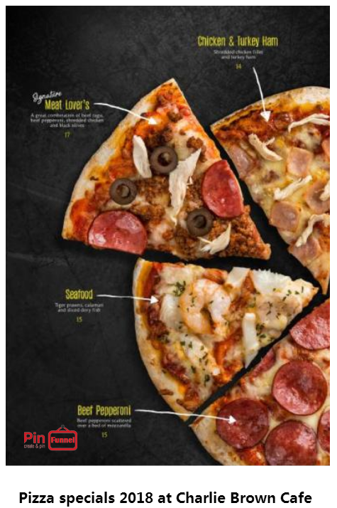 Seafood Chicken And Turkey Ham Pizza Specials Deal 2018 At Charlie Brown Cafe Orchard Road Singapore The Best C Charlie Brown Cafe Turkey Ham Pizza Special