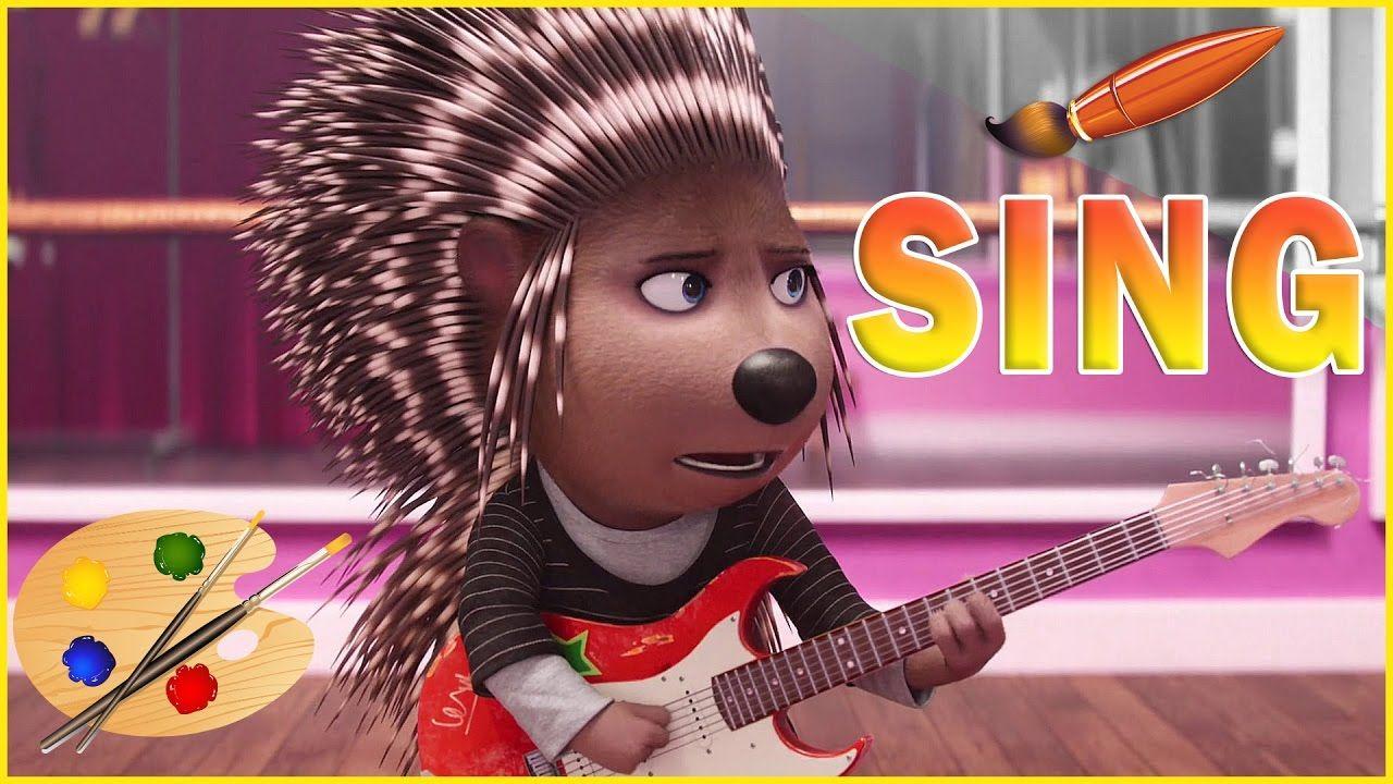 Sing Movie Ash Playing Guitar