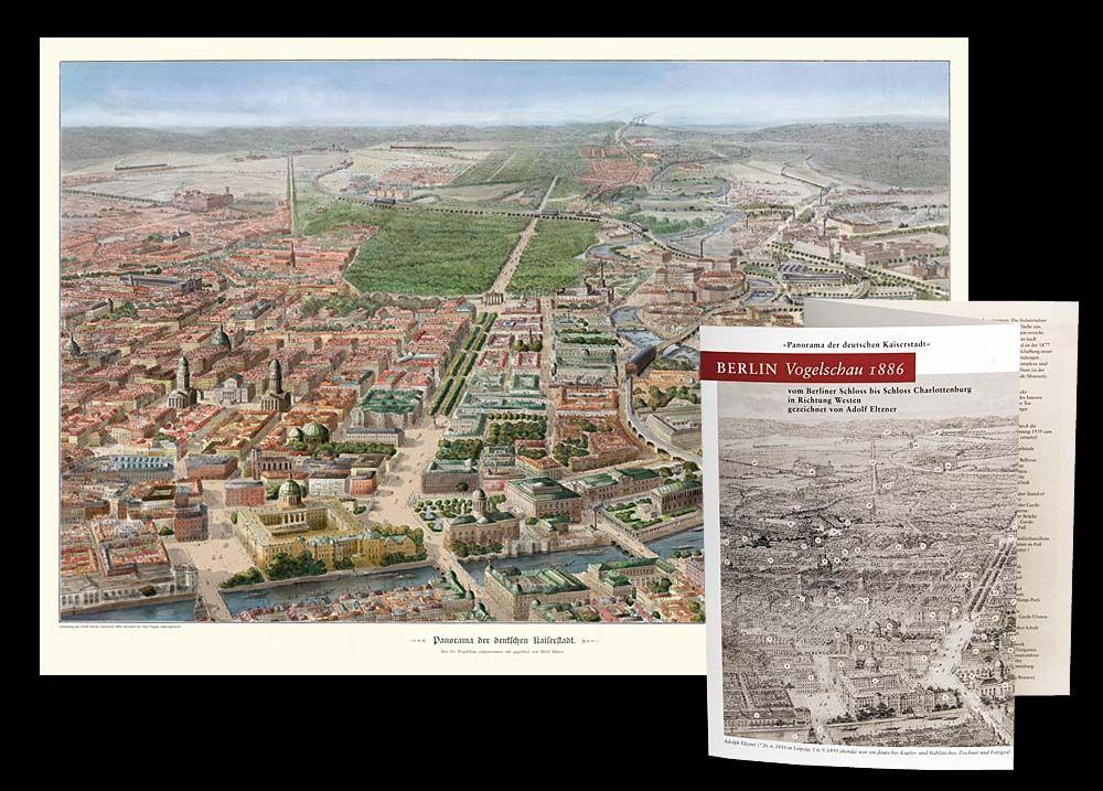 Historische Pläne, EDITION PANORAMA BERLIN