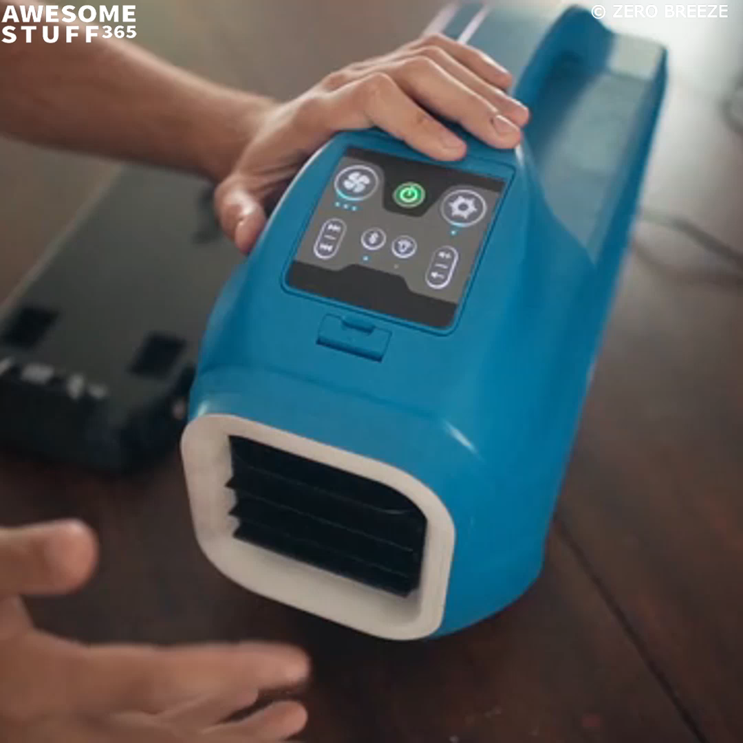 Zero Breeze Portable Air Conditioner I want! Camping