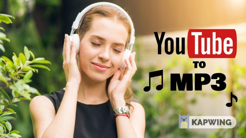 How To Download Music From Youtube Youtube To Mp3 Using Kapwing S Convert Tool Download Music From Youtube Music Download Youtube