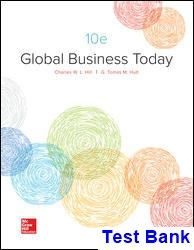 Global business today 10th edition hill test bank test bank global business today 10th edition hill test bank test bank solutions manual exam bank quiz bank answer key for textbook download instantly fandeluxe Image collections