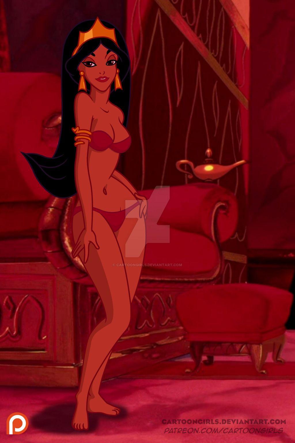Jasmine by CartoonGirls   Alternative disney princesses