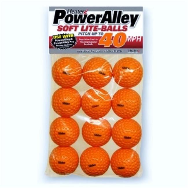 Heater Slb10 Slider Orange Soft Foam Balls Dozen Trend