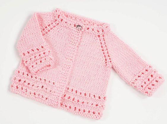 Top Down Free Baby Cardigan Knitting Pattern Knitting Children