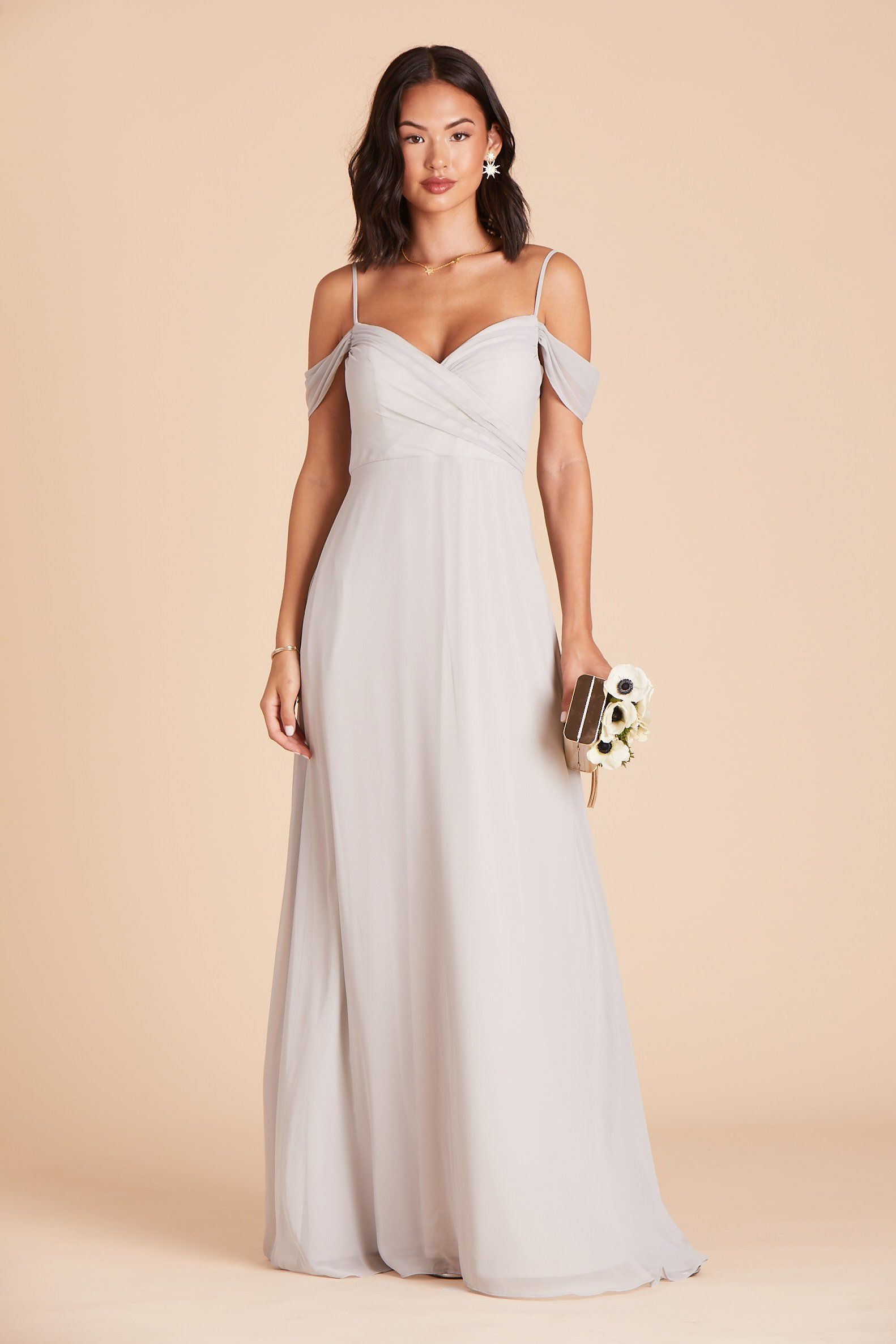 Spence Convertible Dress Dove Gray in 2020 Dresses