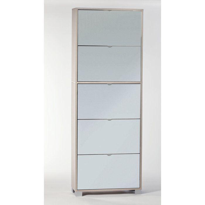 Beautiful Tvilum Bright 3 Drawer Shoe Cabinet