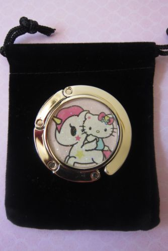 a2045bede486 NEW-Tokidoki-for-Hello-Kitty-Unicorno-Bag-Hanger-w-glitter