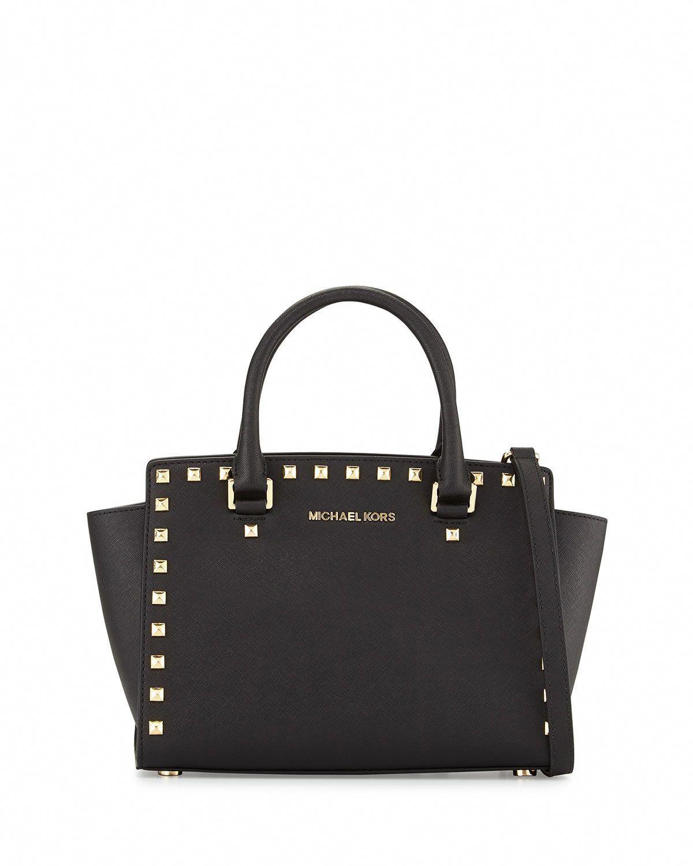 eac5a233f62f Selma Stud Medium Zip Satchel Bag