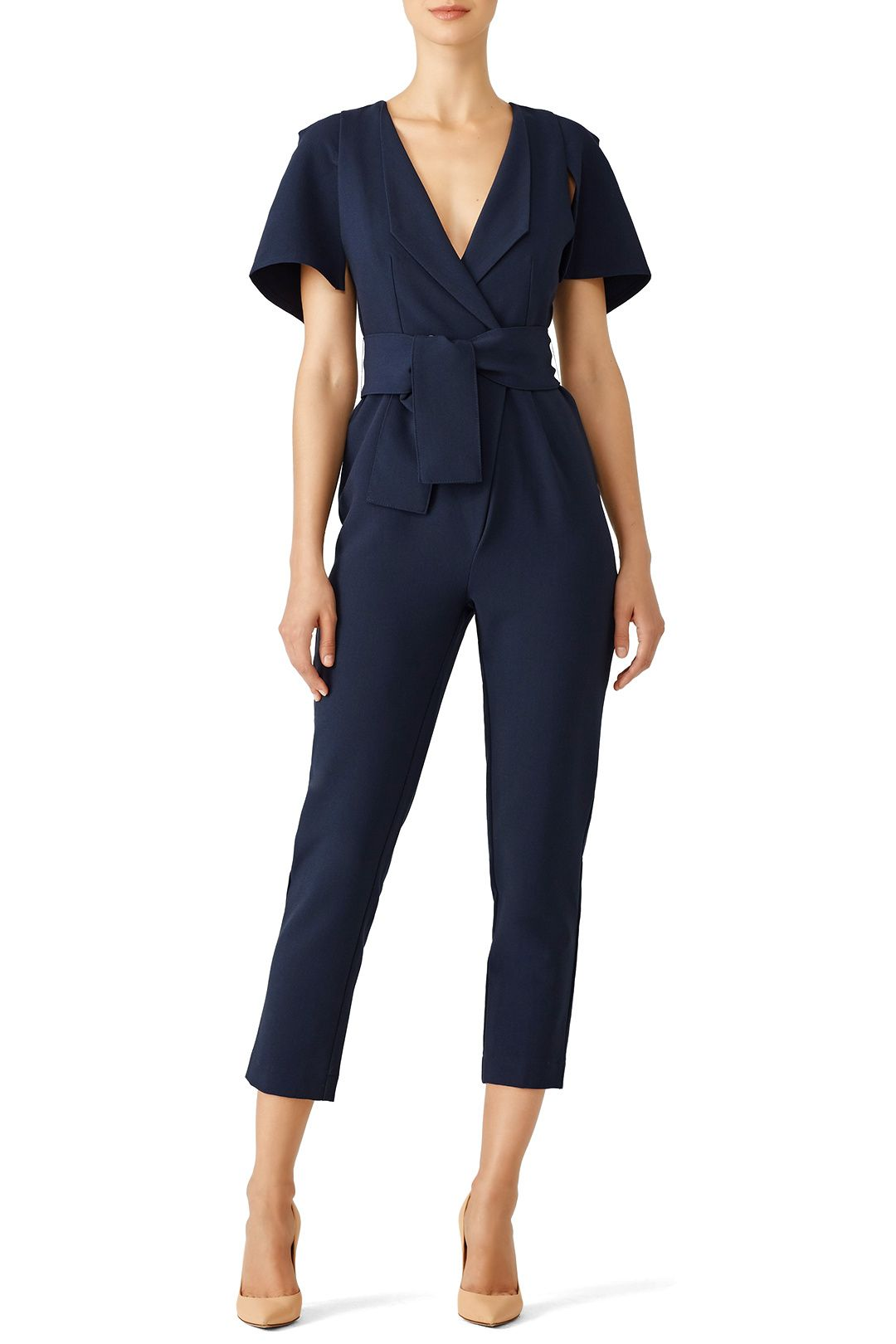 5d86b2f2f5 Rent Navy Manhattan Jumpsuit by The Fifth Label for  30 -  45 only at Rent  the Runway.