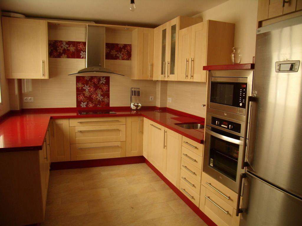 Cocina de madera de maple - Alisios Cocinas | Home Sweet Home ...