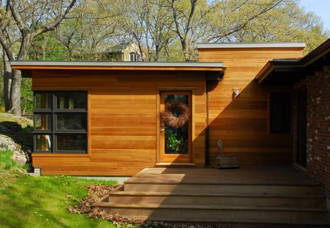 Additions Midcentury Modern Mid Century Portion Of The Project Was Completely Rebuilt With A Focus Modern Exterior Modern Roofing Exterior Design