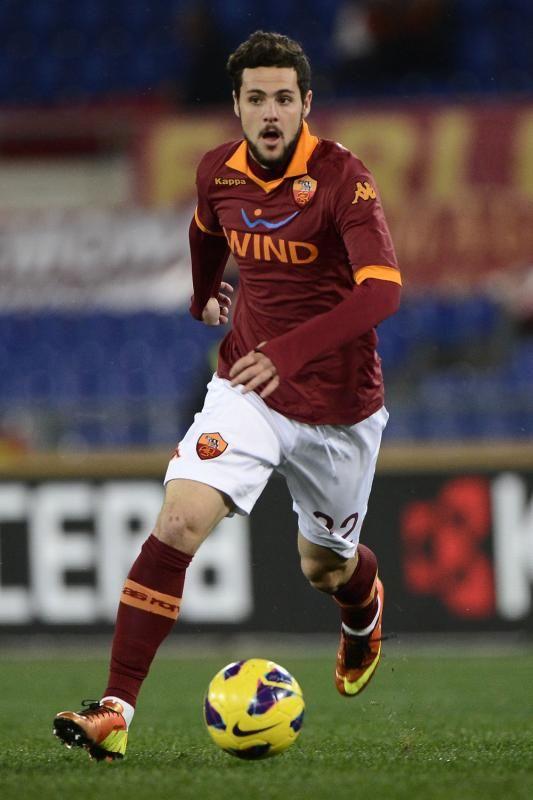 Mattia Destro of AS Roma