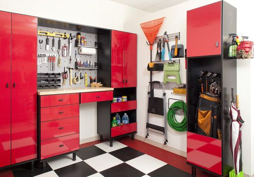 The Closet Works, Inc. Modern Garage And Shed