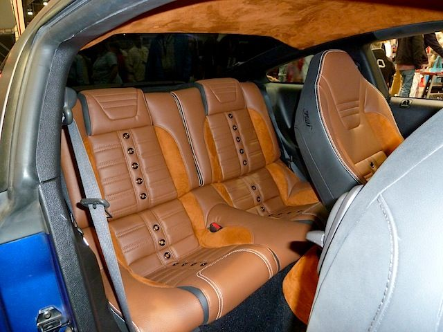 Interiors Take Center Stage At Sema 2013 The Hog Ring Car Upholstery Shift Boot 2005 Ford Mustang