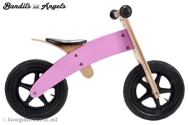 bandits \u0026 angels pink angel 2in1 loopfietsen nl wooden pinterestbandits \u0026 angels pink angel 2in1 loopfietsen nl