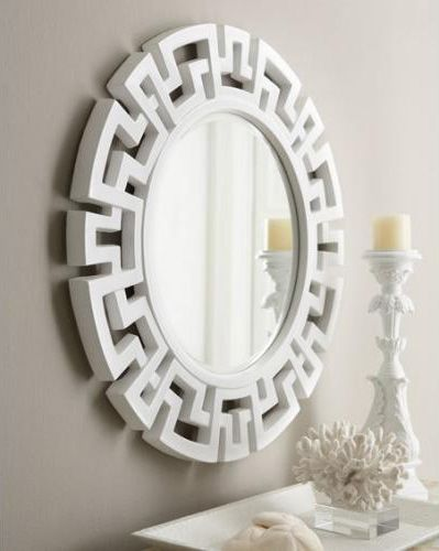 Round Greek Key Mirror Orig On Horchow Fretwork Mirror Mirror Design Wall Asian Mirrors