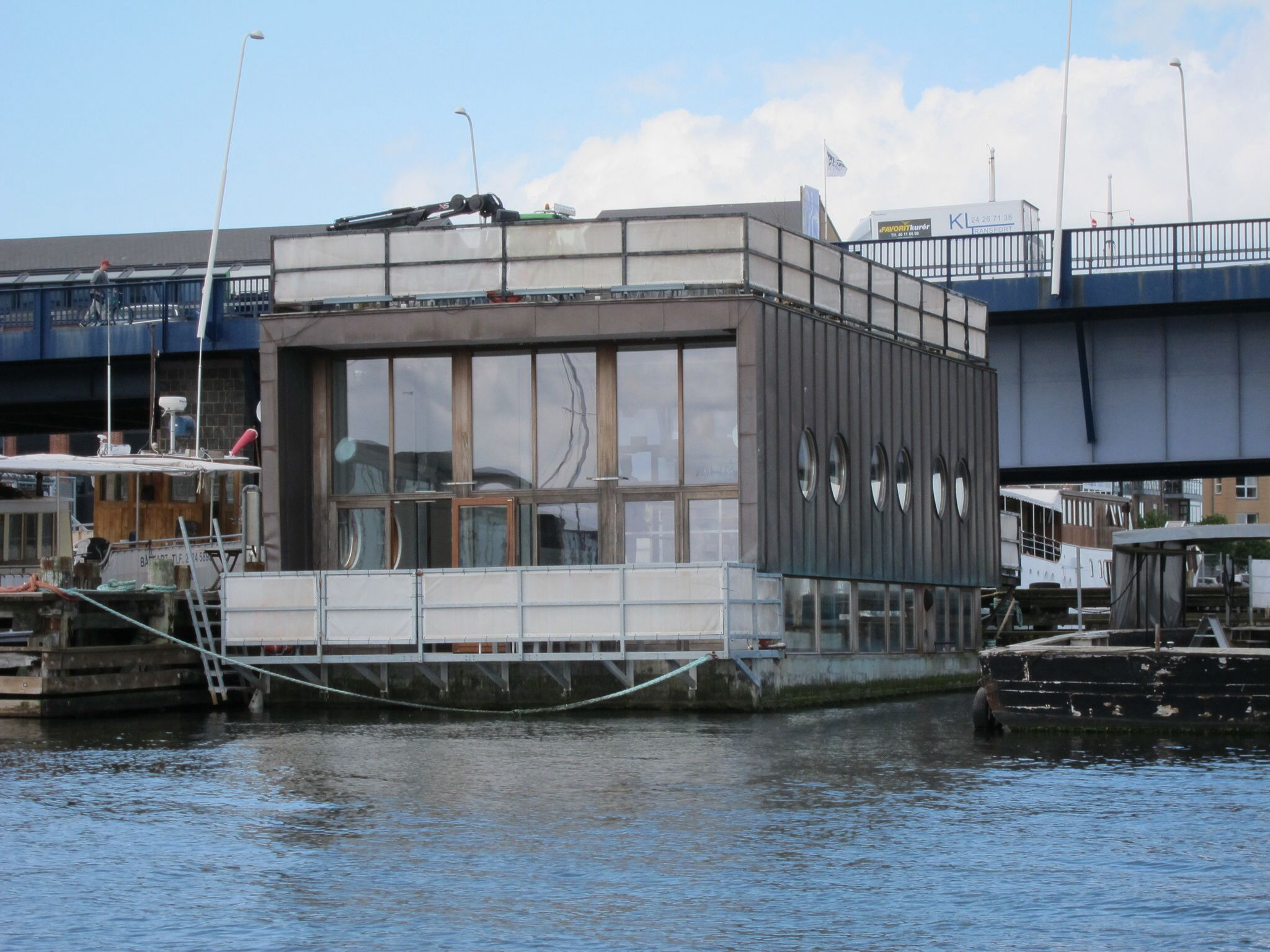 Denmark houseboats