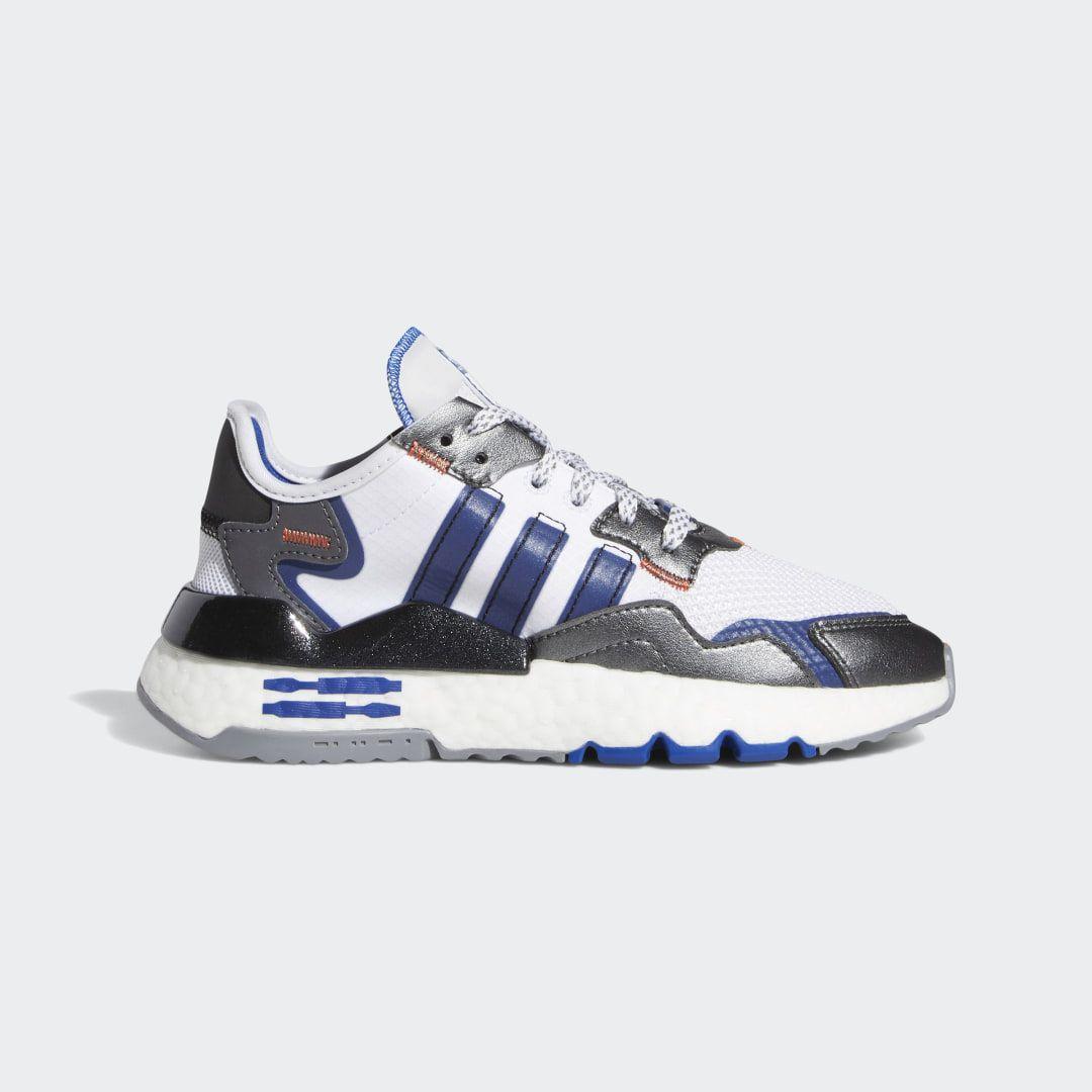 Adidas Nite Jogger Star Wars Shoes White Adidas Us Star Wars Shoes Joggers Shoes