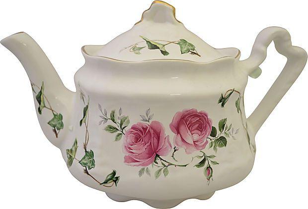 Rose & Ivy English Tea Pot