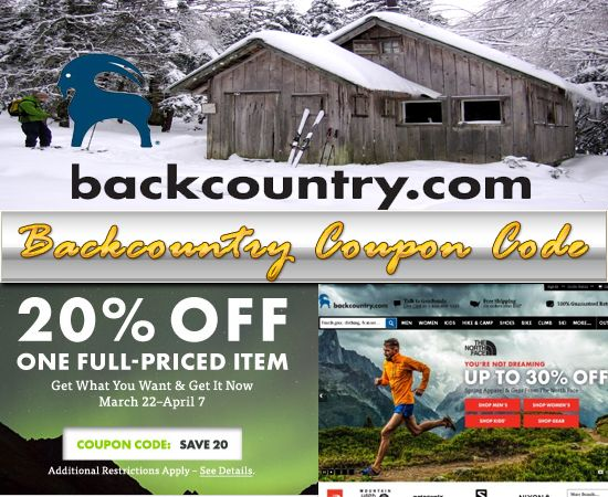 All Backcountry Promotions