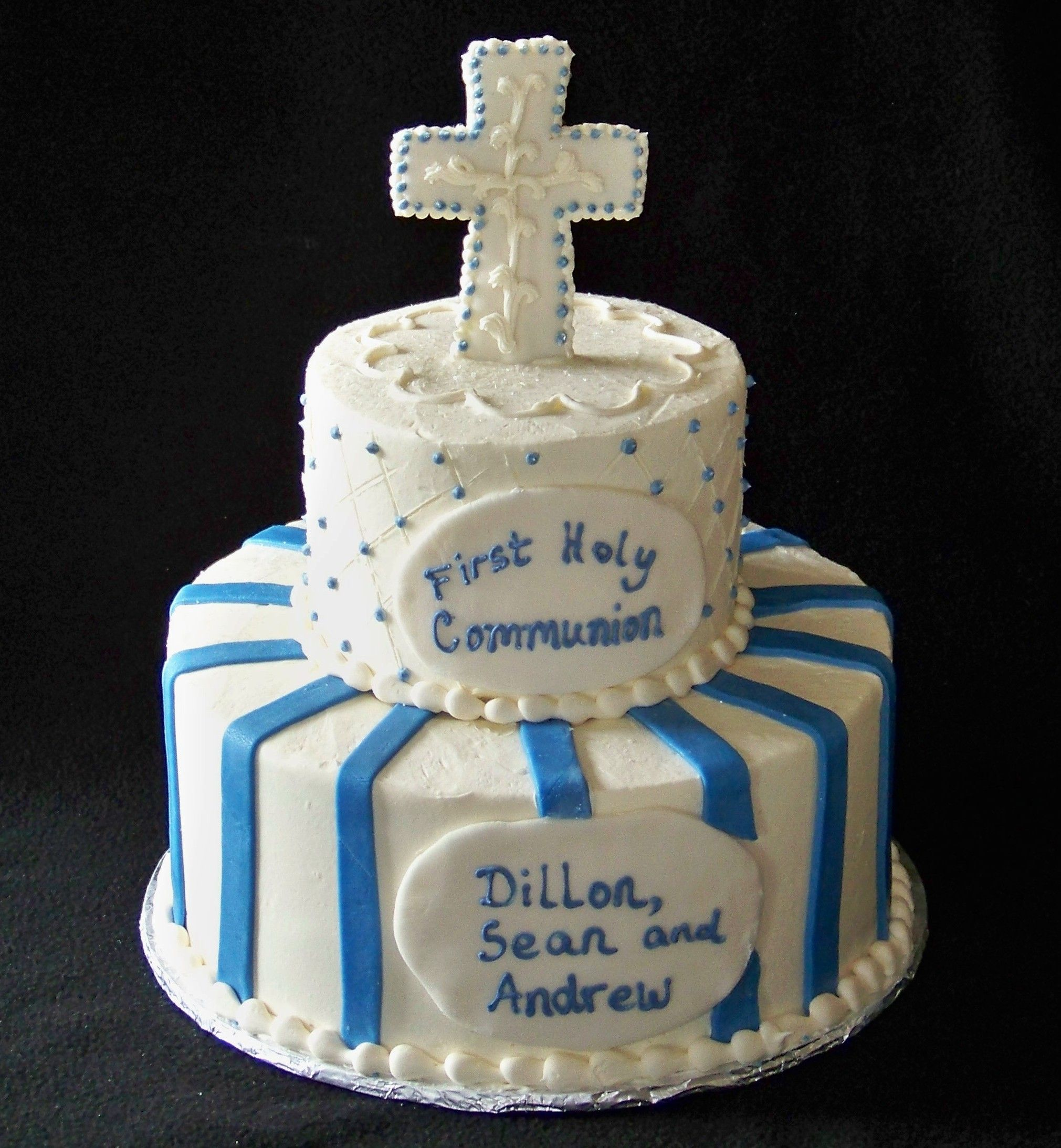 First communion cakes pin boys communion cake ideas and for 1st holy communion cake decoration ideas
