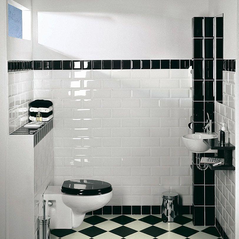 Metrofliese Weiss 10x10 Google Suche Avec Images Toilettes En