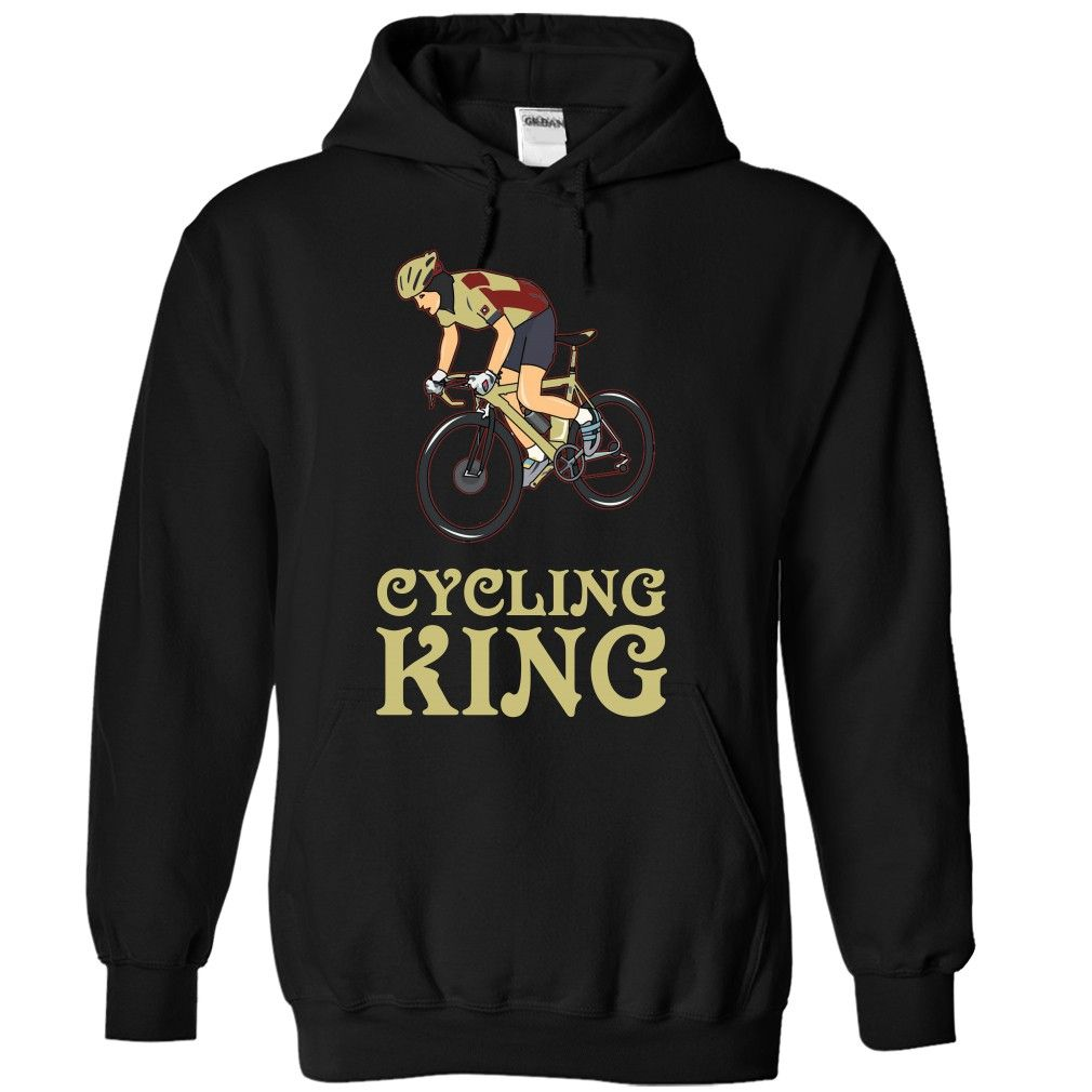 Cycling King - 0915 T Shirts, Hoodies. Check price ==► https://www.sunfrog.com/LifeStyle/Cycling-King--0915-8342-Black-Hoodie.html?41382 $39.99
