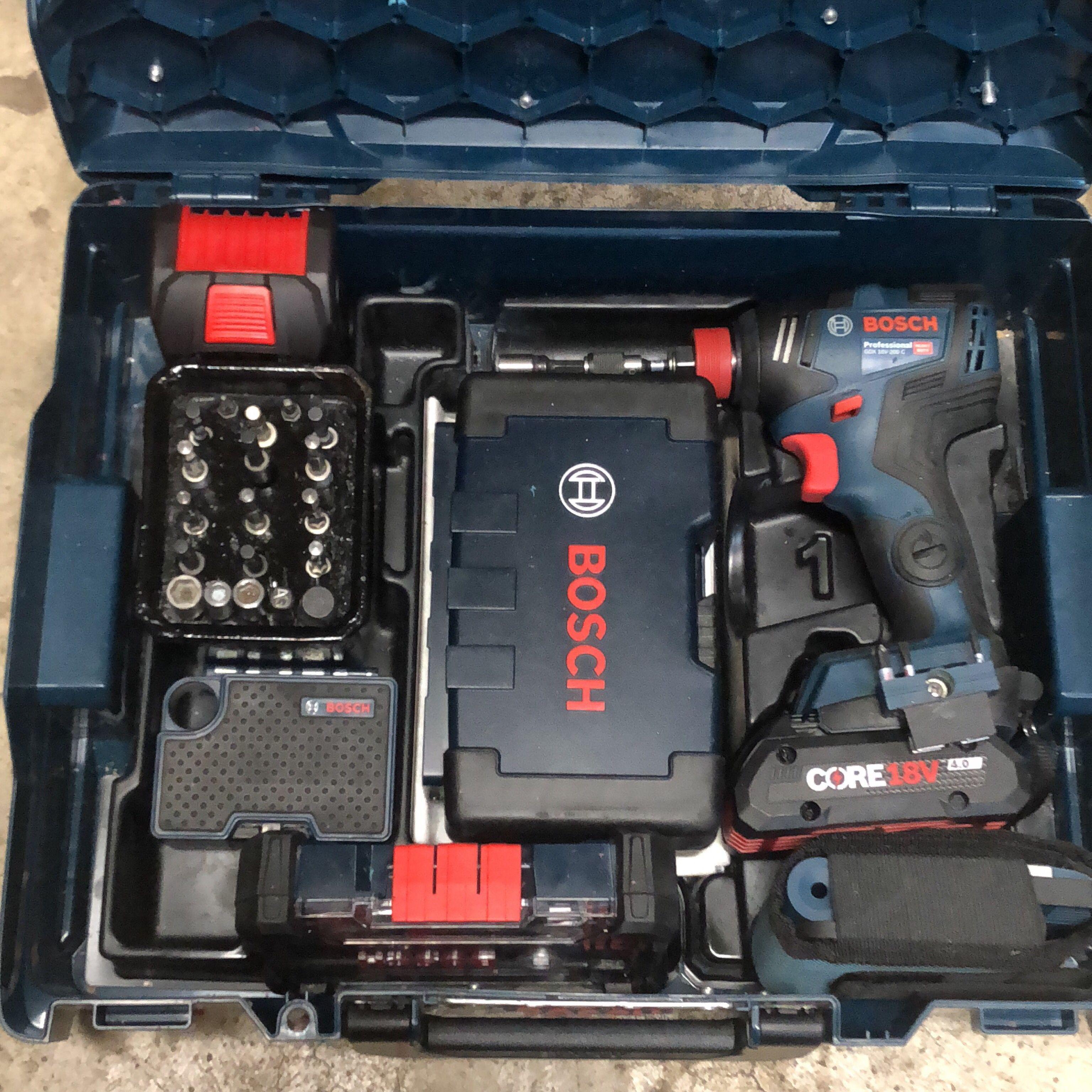 Customized The L Boxx A Little 1 1 2 Deepwell Impact Sockets 2 1 4 1 2 Nut Driver Set 3 Assorted Bit Bosch Elektrowerkzeuge Elektrowerkzeuge Bosch