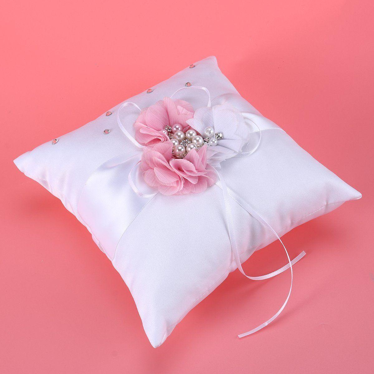 NUOLUX Ring Bearer Pillow #pinkwedding #ringbearer ...