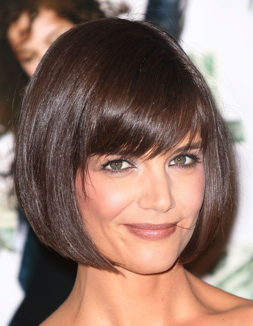 Katie Holmes and her bob